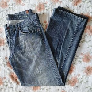SALE🌠'A' Pocket Relaxed Seven7 Mens Dark Wash
